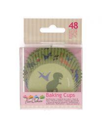 FunCakes Baking Cups -Dino- pk/48