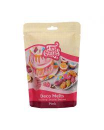 FunCakes Deco Melts -Roze- 250g (nieuwe verpakking)