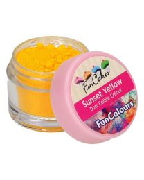 FunCakes Edible FunColours Dust - Sunset Yellow