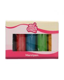 FunCakes Marsepein Multipack Essential Colours 5x100g