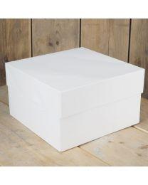 FunCakes Taartdoos - Wit - 20x20x15cm- pk/1