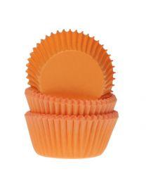HoM Baking Mini Cups Oranje - 60 stuks