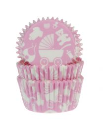 HoM Baking Cups Newborn Pink