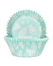 HoM Baking Cups Newborn Mint