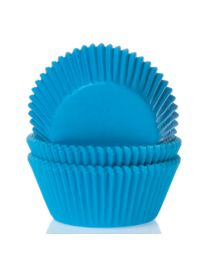 HoM Baking Cups Mini blauw -60