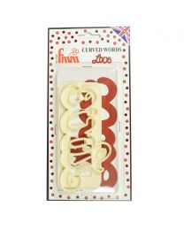 Wilton Cookie Cutter Set Love Set/4