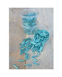 Metallic Sugar Rods - Blauw - 60g