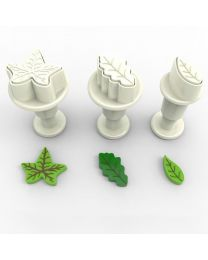 Mini Leaf Plunger Cutter Set - Dekofee