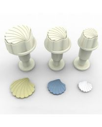 Mini Schelp Plunger Cutter Set - Dekofee