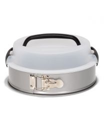 Patisse Silver-Top Springvorm met Draagdeksel Ø24cm