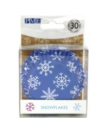 PME Foil Lined Baking Cups Snowflake pk/30