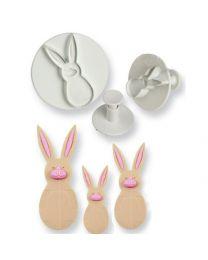 PME Rabbit Plunger Cutter Set 3 delig