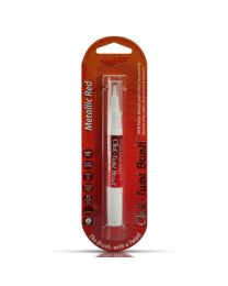 Click-Twist Brush Metallic Red