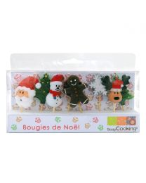 Scrapcooking Candles Christmas Set/8