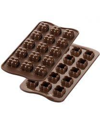 Silikomart Chocolate Mould Choco Game