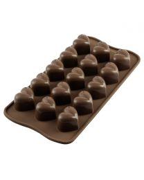 Silikomart Chocolate Mould Monamour