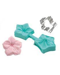 Silikomart Sugarflex Veiner mini Flower/petunia