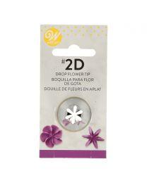 Wilton Decorating Tip #2D Dropflower