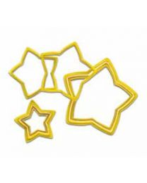 Wilton 6 delige Ster Nesting Cookie Cutterset
