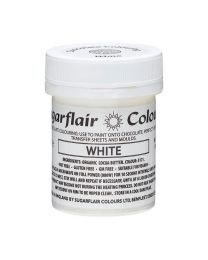 Sugarflair Chocolate Colour White 35g