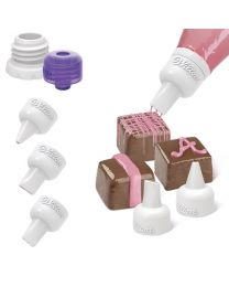Candy Melt Decorating Tip Set - Wilton