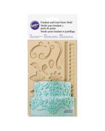 Wilton Fondant/Gumpaste Mold Lace