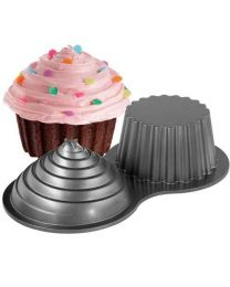 Wilton Giant Cupcake Pan - Cake Smash.